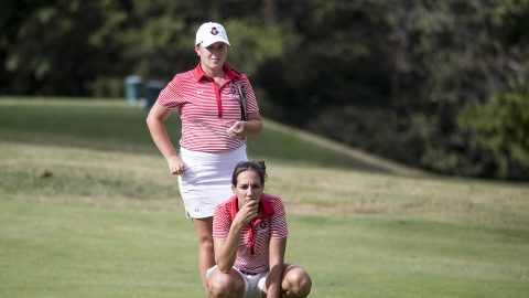 Austin Peay Women's Golf has four players in the Top 10 at the Town and Country Invitational being played in Nashville, TN. (APSU Sports Information)
