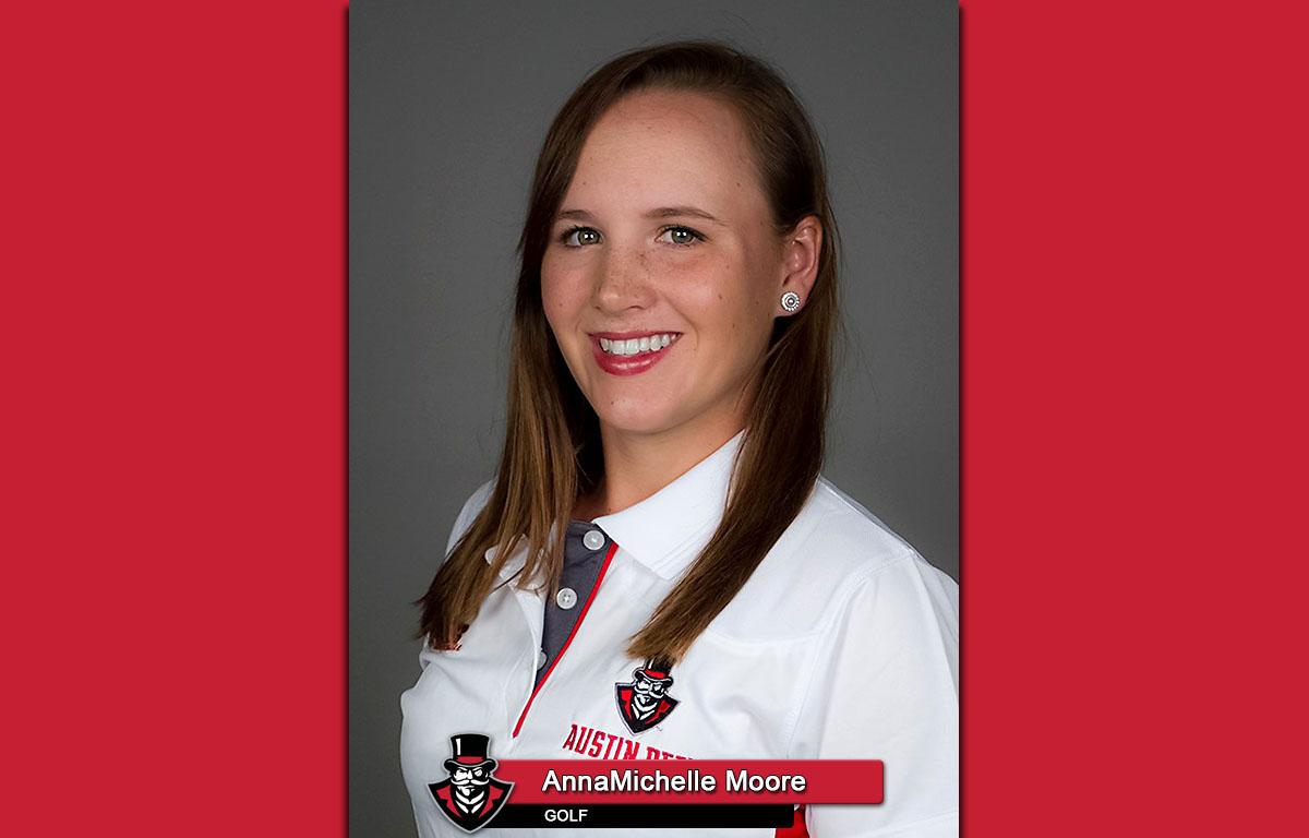 APSU Women's Golf - AnnaMichelle Moore
