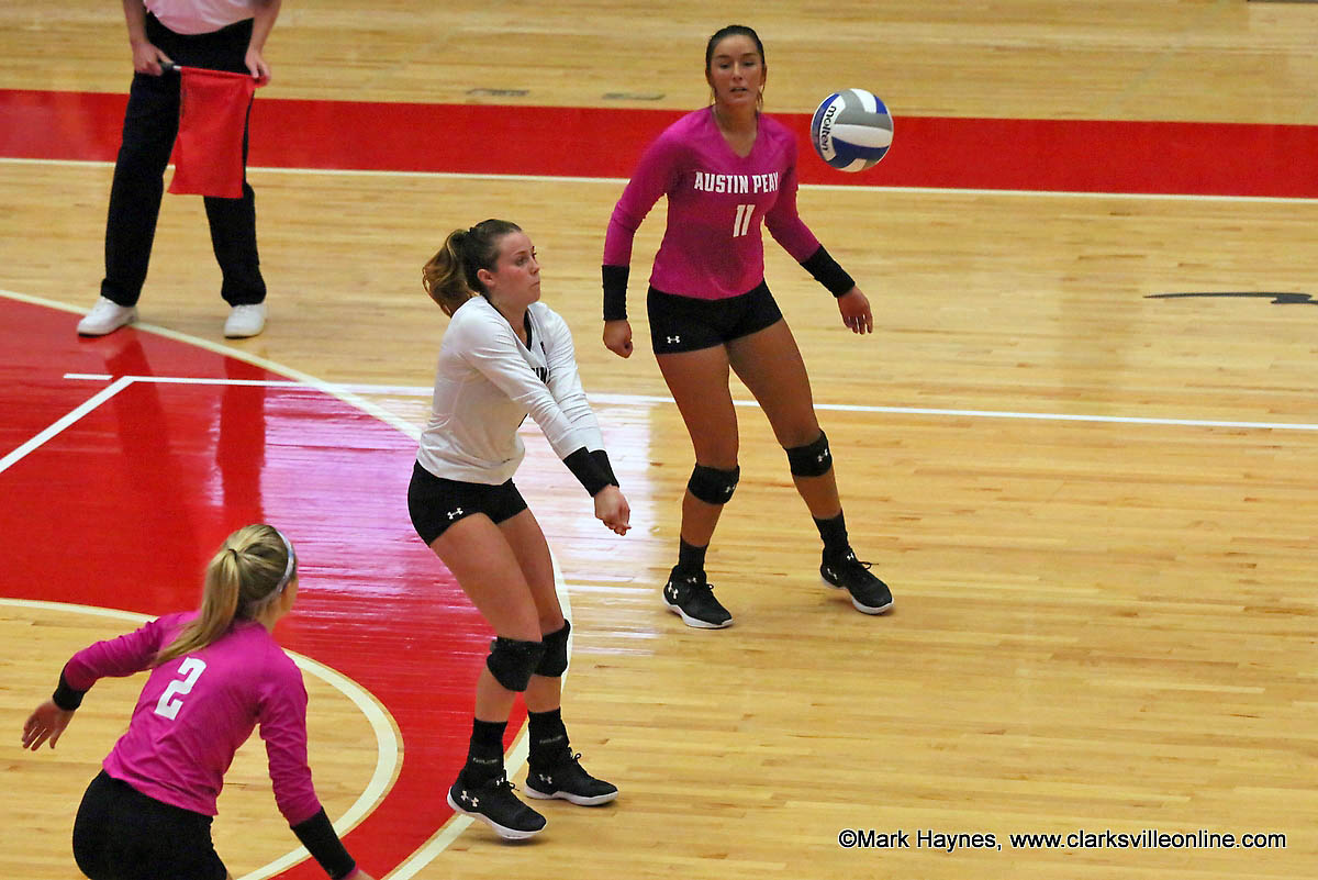 Austin Peay Volleyball has two pivotal road games against Eastern Illinois, Friday, and SIU Edwardsville, Saturday.