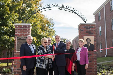 The Pave The Way Ribbon Cutting Ceremony was held on Friday, Oct. 20, 2017.