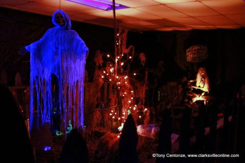 15th annual Bikers Who Scare Haunted House.