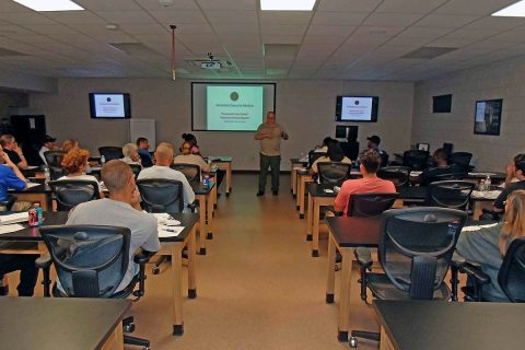 Next Citizens Police Academy Class set to begin March 6th, 2018.