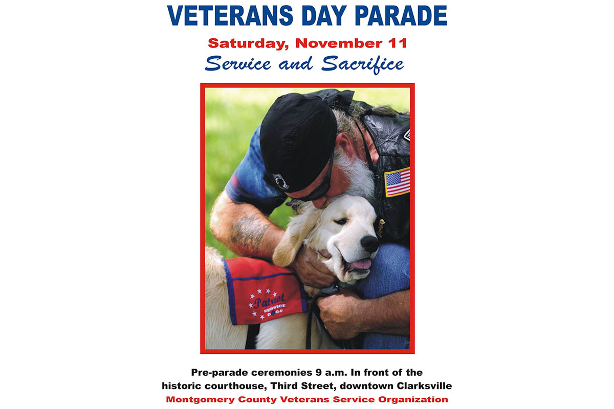 Clarksville-Montgomery County Veterans Day Parade set for November 11th