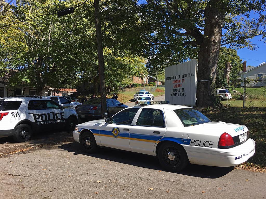 Clarksville Police find a .380 caliber Semi-automatic pistol, a .12 gauge shotgun, and the AK (Kalashnikov) variant rifle when they took Commerce Street Barricade suspect Darren Vance into custody.