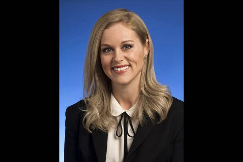 Tennessee Director of Legislation Katie Ashley.