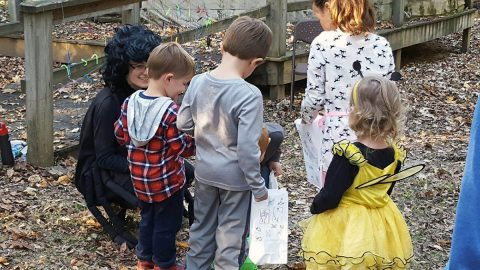 Land Between the Lakes Nature Station Howl-O-Ween. (Jan Gray, volunteer)