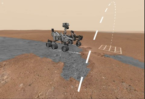 Access Mars allows any member of the public to explore the discoveries of NASA's Curiosity rover. (NASA/JPL-Caltech)