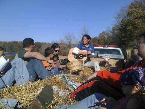 Nature Station Fall Hayride. (Melodie Anderson)