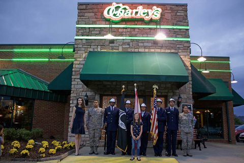 Now Through October 29th, O'Charley's Guests Can Donate to Aid the Families of Fallen Soldiers