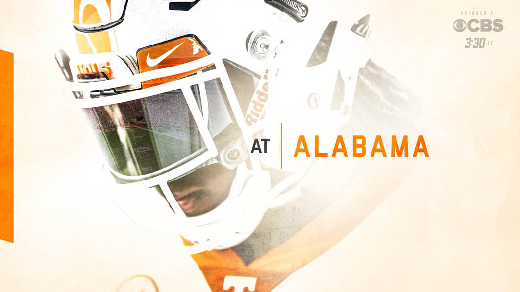 Tennessee Vols and Alabama Crimson Tide will square off for the 100th time on Saturday with 2:30pm CT kickoff on CBS. (Tennessee Athletics)
