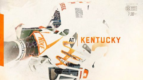 Tennessee Vols renew SEC East rivalry with Kentucky Wildcats on Saturday at 6:30pm CT on SEC Network. (UT Athletics Department)