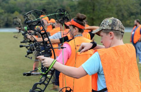 Youth Archery.