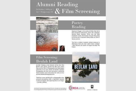 Zone 3 to hold alumni reading and film screening event on Oct. 26