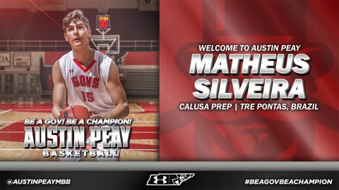 Austin Peay Men's Basketball signs Matheus Silveria. (APSU Sports Information)