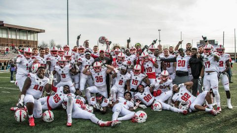 Austin Peay Football overcomes 17 point deficit to beat Eastern Kentucky 31-24 Saturday in Richmond, KY. (APSU Sports Information)