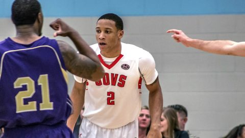 Austin Peay Men's Basketball junior guard Deyshawn Martin had 14 points in win over Bethel Wednesday. (APSU Sports Information)