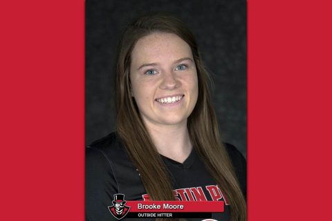 APSU Volleyball's Brooke Moore