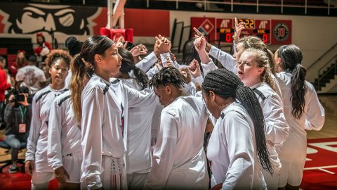 Austin Peay Women's Basketball plays Lipscomb at Allen Arena in Nashville, Sunday. (APSU Sports Information)