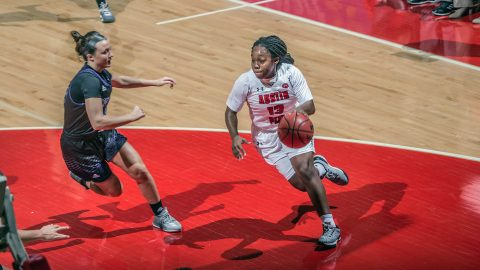 Austin Peay Women's Basketball get win at the Dunn Center over Kentucky Wesleyan in exhibition game. (APSU Sports Information)