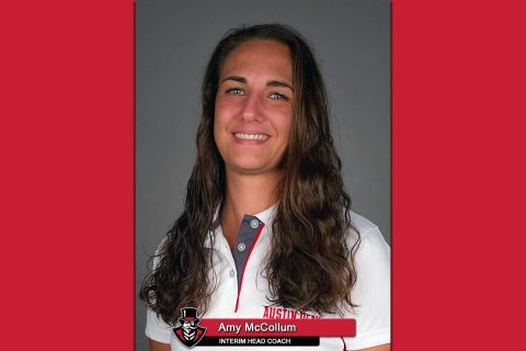APSU Women's Golf - Amy McCollum