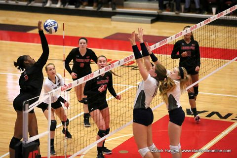 Austin Peay Women's Volleyball take on UCLA Friday, December 2nd in the opening round of the 2017 NCAA Division I Volleyball Championship at Pauley Pavilion.