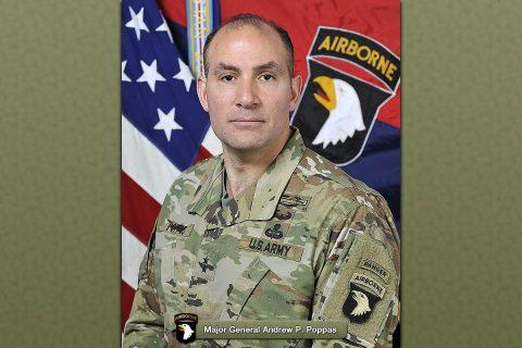 Major General Andrew P. Poppas