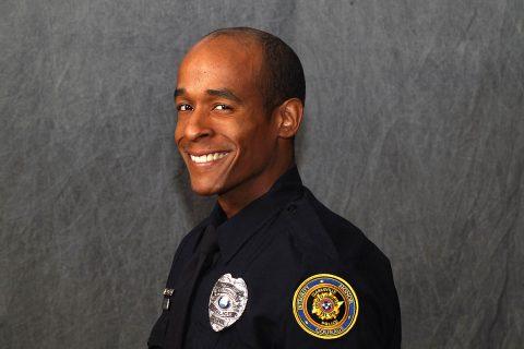 Clarksville Police Officer Greg Granderson