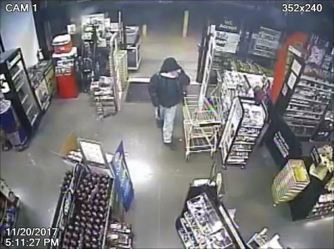 Clarksville Police are trying to identify the person in this photo in connection to the robbery of the Dollar General on Ash Ridge Drive.