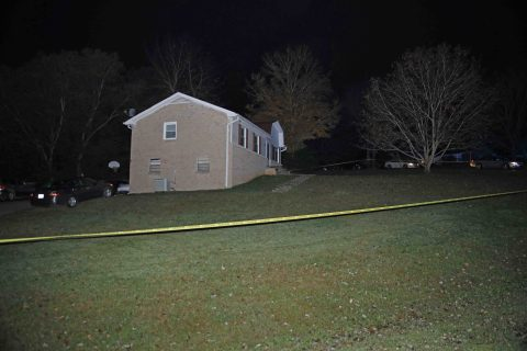 Clarksville Police responded to a shooting in progress at a residence at 100 Oaks Drive Tuesday night. (CPD, Jim Knoll)