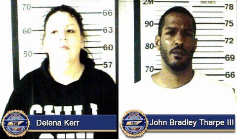 Delena Kerr and John Bradley Tharpe III
