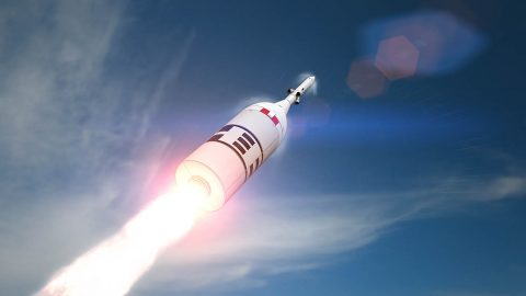 NASA will test Orion's launch abort system in high-stress ascent conditions during an April 2019 test called Ascent Abort-2. (NASA)