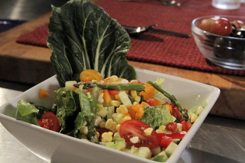 Side salad. (American Heart Association)