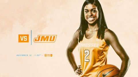 Tennessee Women's Basketball hosts James Madison Wednesday night at Thompson-Boling Arena. (UT Athletics)