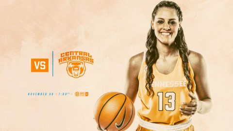 Tennessee Women's Basketball hosts Central Arkansas Thursday at Thompson-Boling Arena. Tip off is at 6:00pm CT. (Tennessee Athletics)