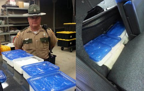 Tennessee Highway Patrol Trooper Donnie Clark arrests two drug traffickers.