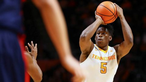 Tennessee Vols head to the Bahamas to take on #18 Purdue at the Bad Boy Mowers Battle 4 Atlantis Wednesday at 11:00am CT. (Tennessee Athletics)