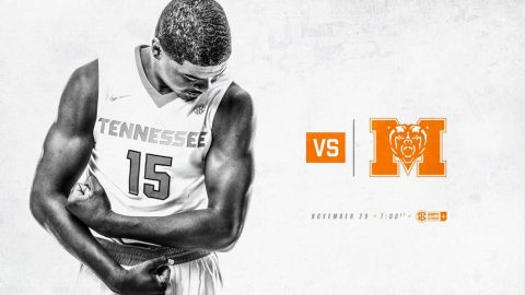 Tennessee Men's Basketball hosts Mercer Wednesday night at 6:00pm CT. (Tennessee Athletics)