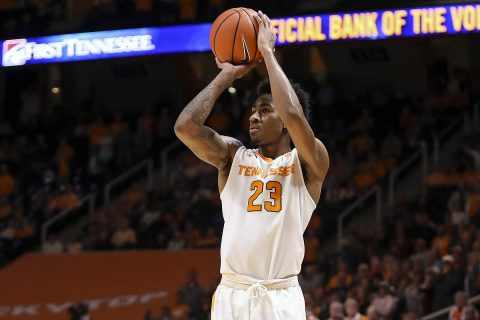 Tennessee Vols Basketball take care of Mercer Wednesday night 84-60 at Thompson-Boling Arena. (Tennessee Athletics)