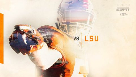 Tennessee Vols take on LSU for the first time since 2011 Saturday. (UT Athletics)