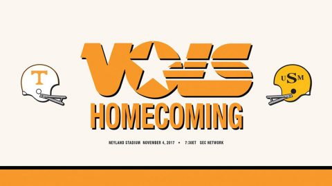 Tennessee will play its 94th Homecoming game on Saturday against Southern Miss at 6:30pm CT on SEC Network. (UT Athletic Department)