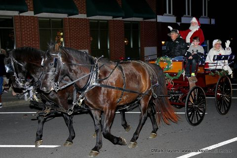 58th Annual Clarksville Christmas Parade in Downtown Clarksville.