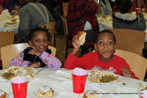 APSU's Morgan Center was the site of the 10th Annual Warm Souls Saturday, with food, music, clothing, shoes and more for local families in need.