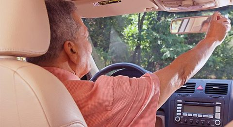 Most senior drivers surveyed by the AAA Foundation are not taking advantage of simple, inexpensive features that can improve safety and extend their time behind the wheel. (AAA)