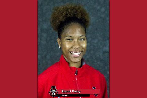 APSU Basketball - Brandi Ferby
