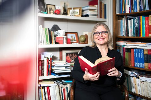 APSU Professor of French literature Dr. Karen D. Sorenson.