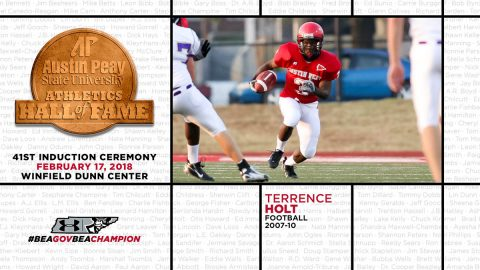 APSU Hall of Fame Inductee Terrence Holt. (APSU Sports Information)
