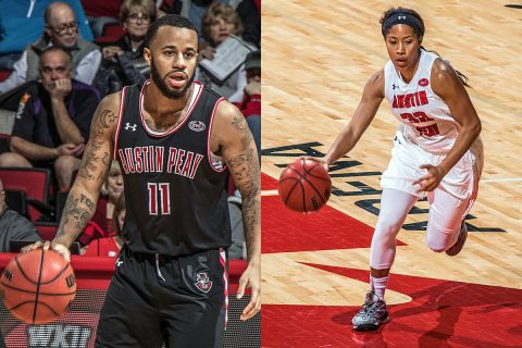 Austin Peay Basketball teams open Ohio Valley Conference Play Thursday with doubleheader against SIU Edwardsville at the Dunn Center. (APSU Sports Information)
