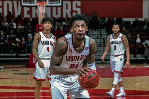 Austin Peay Men's Basketball downs Eastern Illinois 70-54 Saturday night at the Dunn Center. (APSU Sports Information)