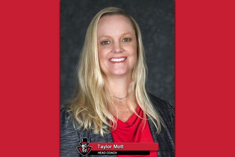 APSU Volleyball head coach Taylor Mott