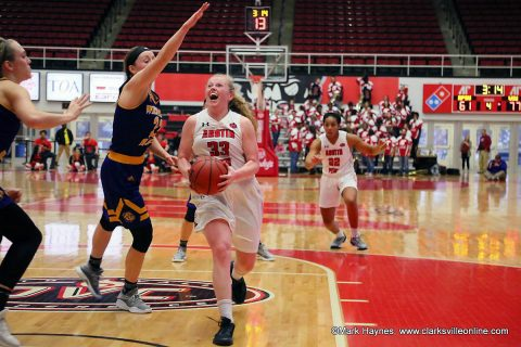 Austin Peay takes on Ball State Sunday in Indiana then heads home Thursday, December 28th to begin OVC play with four game homestand.